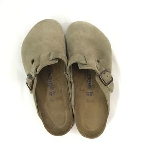 Birkenstock Shoes - Birkenstocks Boston suede leather like new 41